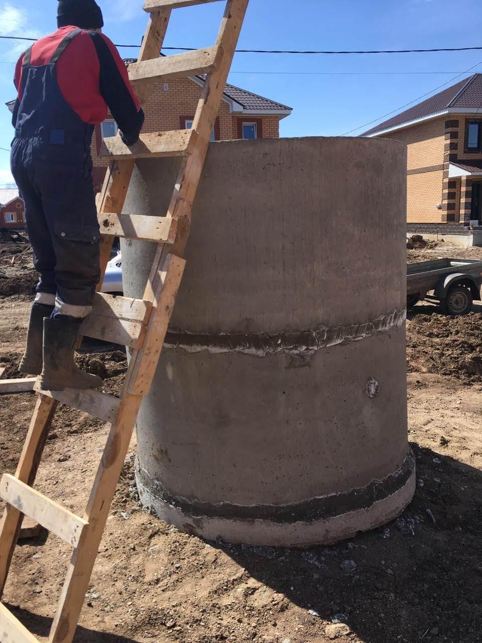 Назначение бетонных колодцев фото